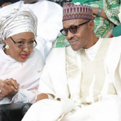 President Buhari gushes over his wife, read what he wrote about the First Lady.