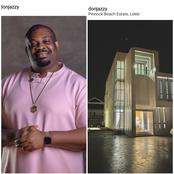 Pictures As DonJazzy Acquires A New House In Lekki