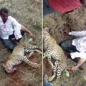 Meet the man who fought a leopard with his bare hands