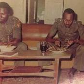 Beautiful Throwback Photos Of President Buhari As A Military Man
