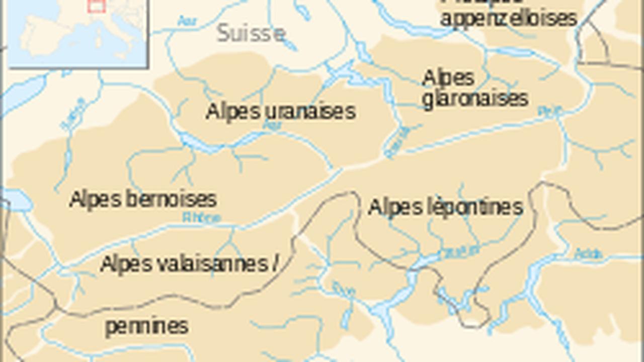 🔎 Alpes lépontines