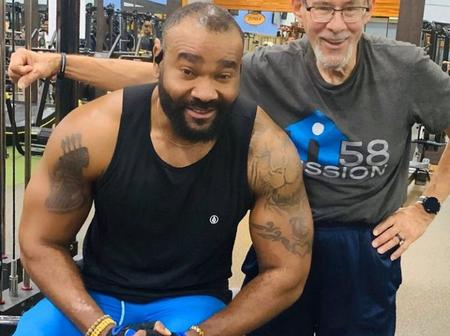 Meet Nollywood Actor Who Is Now A Body Builder And Stays In Abroad