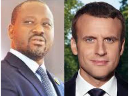 Des internautes s'insurgent et recadrent Guillaume Soro suite à un tweet sur Macron et Ouattara