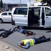 Courier Van Robbers Busted In Jozi