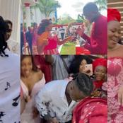 Roseline Okoro, one of the sisters of actress Yvonne okoro, has got married in beautiful traditional