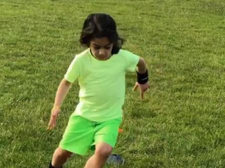 Will this 6-year-old boy replace Messi? See the video of this boy that people are reacting to