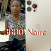 Reactions Online As Lady Reportedly Bought iPhone 12 With Just 3300 Naira