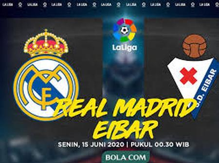 Real Madrid vs Eibar:- Prediction, Preview, Team News and More