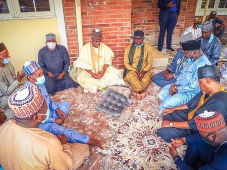 Okorocha, Garba Shehu And Other Dignitaries Visit Pantami