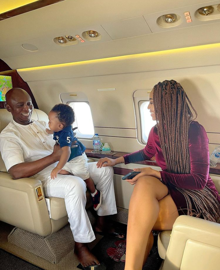 Today is Munir Nwoko's birthday, Check out lovely pictures of him spending time with his parents 16