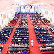 Prophet Nanasei Sarkodie Has 2 Mega Structures on the Same Land For Services - PICS