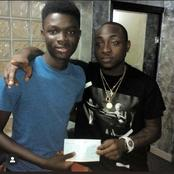 Nigerian artiste, Davido receives accolades after the guy he fundraised graduated with First Class
