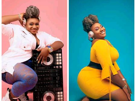 See Beautiful Photos Of A Nigerian Female DJ Who Is Blessed With A Nice Curve(Photos)