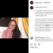 Bahati's Baby Mama Yvette Obura (Mama Mueni) Bitterly Speaks Out Against This Group Of People