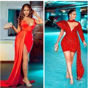 How To Slay In Red Outfits Like Diamond's Baby Mama.