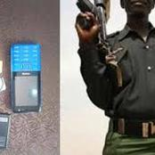 Reactions As A Policeman Forcefully Collected 150K From A Student
