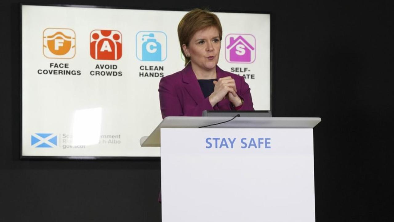 Nicola Sturgeon to give Covid Scotland update as new cases continue to surge