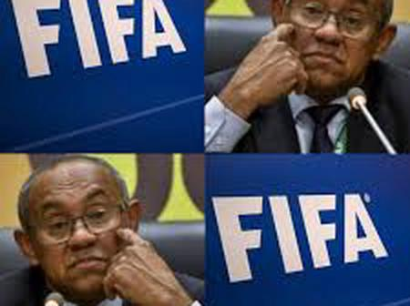 CAF President Banned by FIFA For Five Years. Reasons Revealed.