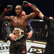 Ebuka tweets touching message to Isreal Adesanya after He Lost for the first time in UFC
