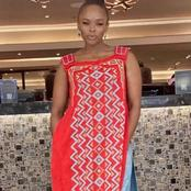 Unathi Nkanyi left fans dumbstruck with her recent beautiful pictures on social media.