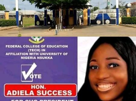 Look At What People Said As Popular Tertiary Institution Produced Its First Female SUG President