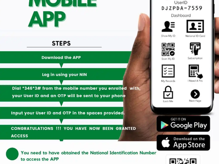 Here is the official link to download NIMC Mobile App to verify your NIN and link your SIM cards