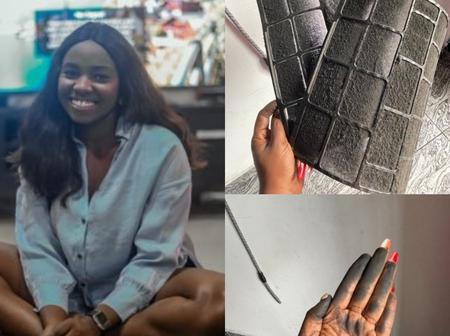 See What This Lady Discovered In Her House In Port Harcourt That Got People Talking