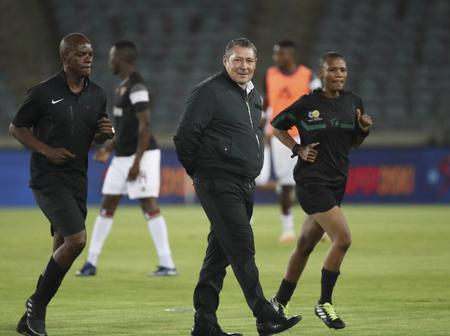 Stellenbosch coach has made it clear that his key player, who is Kaizer chiefs target is staying.