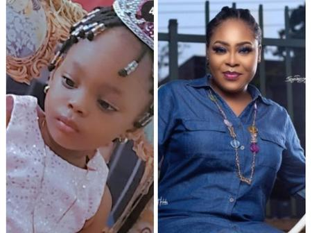 Shola Kosoko Celebrates Her Daughter's Birthday Today, Shares Lovely Video Of Her