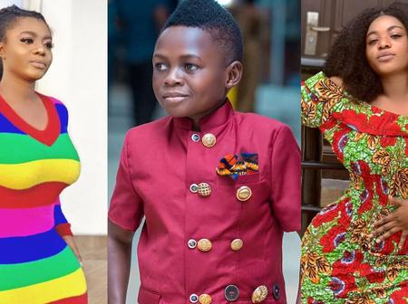 See The Beautiful Girlfriend Of One Of The Shortest Actors In Ghana As She Celebrates Him On His Day