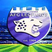 See Sleek AFC Leopards' Home Jersey for 2020/21 Kenya Premier Season