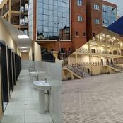 See 11 Photos Of The Newly Commissioned Ultra Modern Market By Governor Kayode Fayemi In Ado Ekiti.