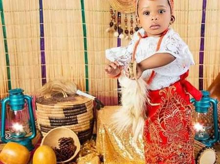 Beautiful And Talented Nigerian Gospel Singer Sinach Celebrates Daughter's First Birthday