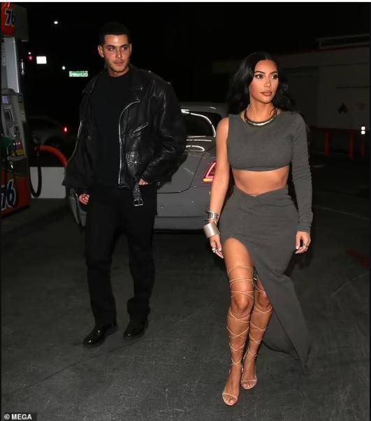 Kim Kardashian parties with billionaire bachelor Jamie Reuben at his birthday bash (photos)