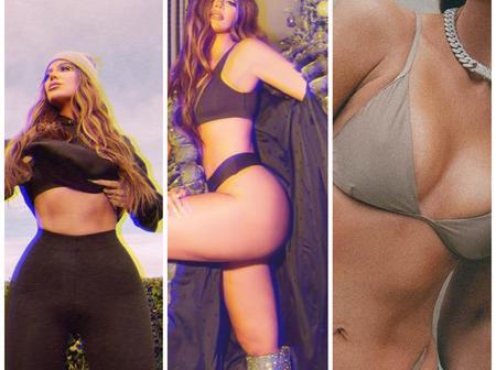 Check out 20 photos of Khloe Kardashian rocking beachwear