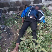Killer cop Hesy Wa Dandora in Gun Battle With Deadly Gangster Who Killed Student Over Phone