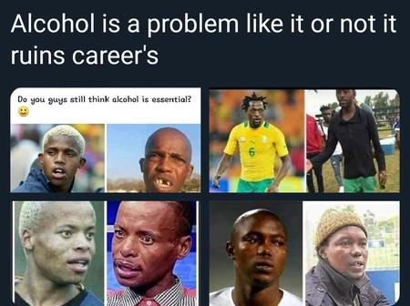 A Man Has Caused A Stir For Blaming Alcohol For These Footballers' Failed Careers.