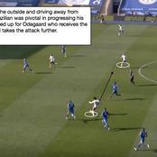 Explained: How Arsenal's Willian Produced a Masterclass Performance Against Leicester (PHOTOS)