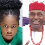 Kenneth Okonkwo's Daughter Flaunts Adorable Photos, Unveils The Secret Of Overcoming