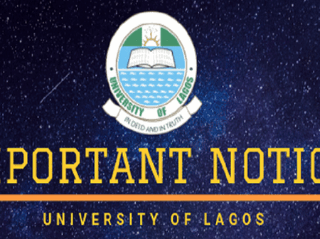 University of Lagos releases calendar as lectures are to begin virtually.