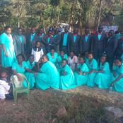 Muringene Seventh Day Adventist Choir Pose For A Photo Session After A Wonderful Choir Day