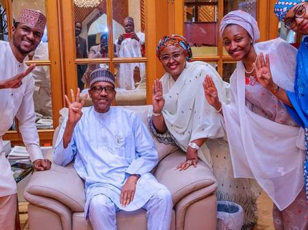 As the social media ghost haunts the Buhari's family