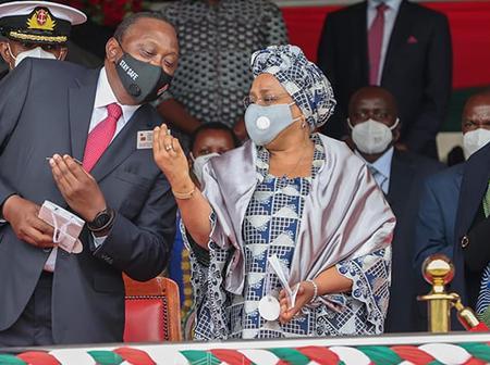 """Tunachezwa!"" Kenyans Cry Foul After Seeing Uhuru's Huduma Card"
