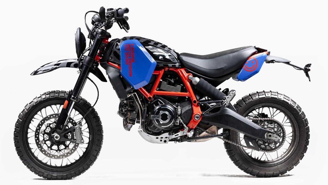 Hookie Co. Treats Ducati's Desert Sled Moto To A Rally Raid-Inspired Bolt-On Body Kit