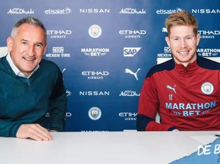 UEFA Reacts As Manchester City's Key Player Officially Signs New Deal