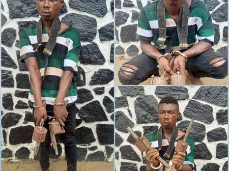 Photos: See The Sophisticated Weapons A Cultist Was Caught With