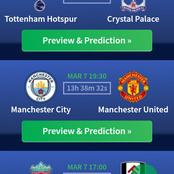 3 Win Matches And 2 Correct Score Matches To Win Today And Earn You Big Money