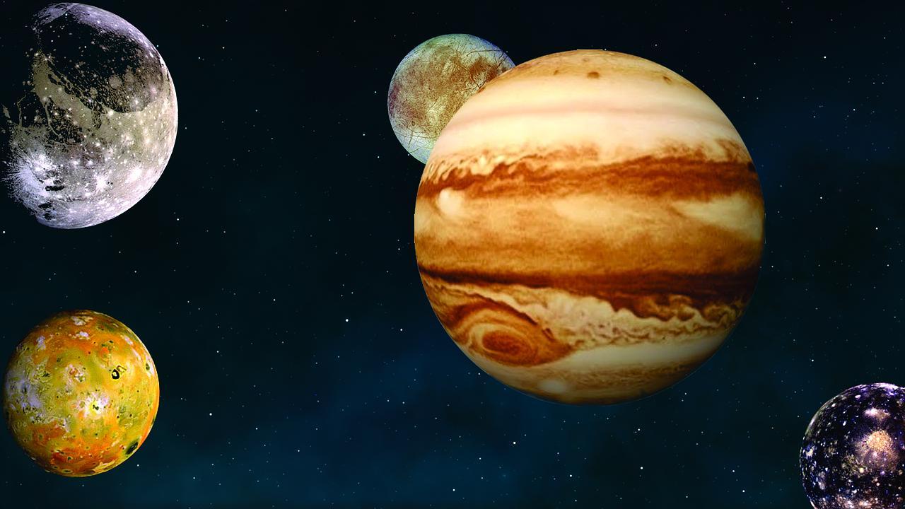 De la vapeur d'eau a été détectée dans l'atmosphère d'un satellite de Jupiter