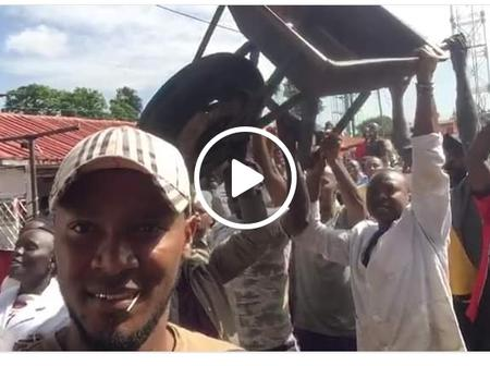 Pesa Yetu! Youths Storm Hustlers Nation Offices Demanding Payment After Burma Market Heckling