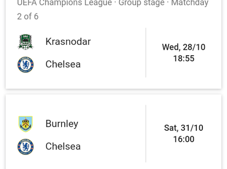 Check out Chelsea's next five games that could change the season for Lampard